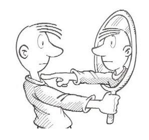 tu al espejo