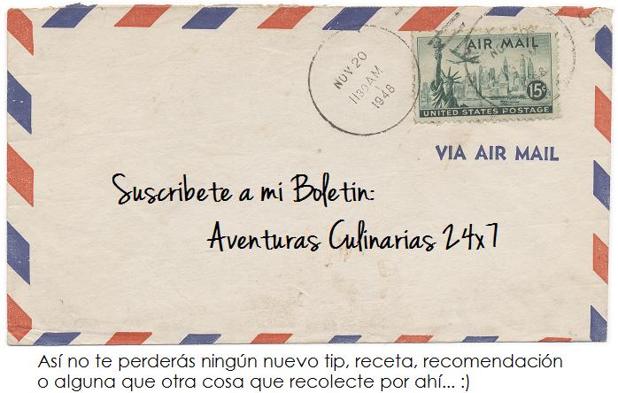Suscribete a Boletin